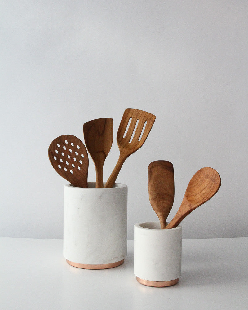 Mara Marble & Copper Canisters