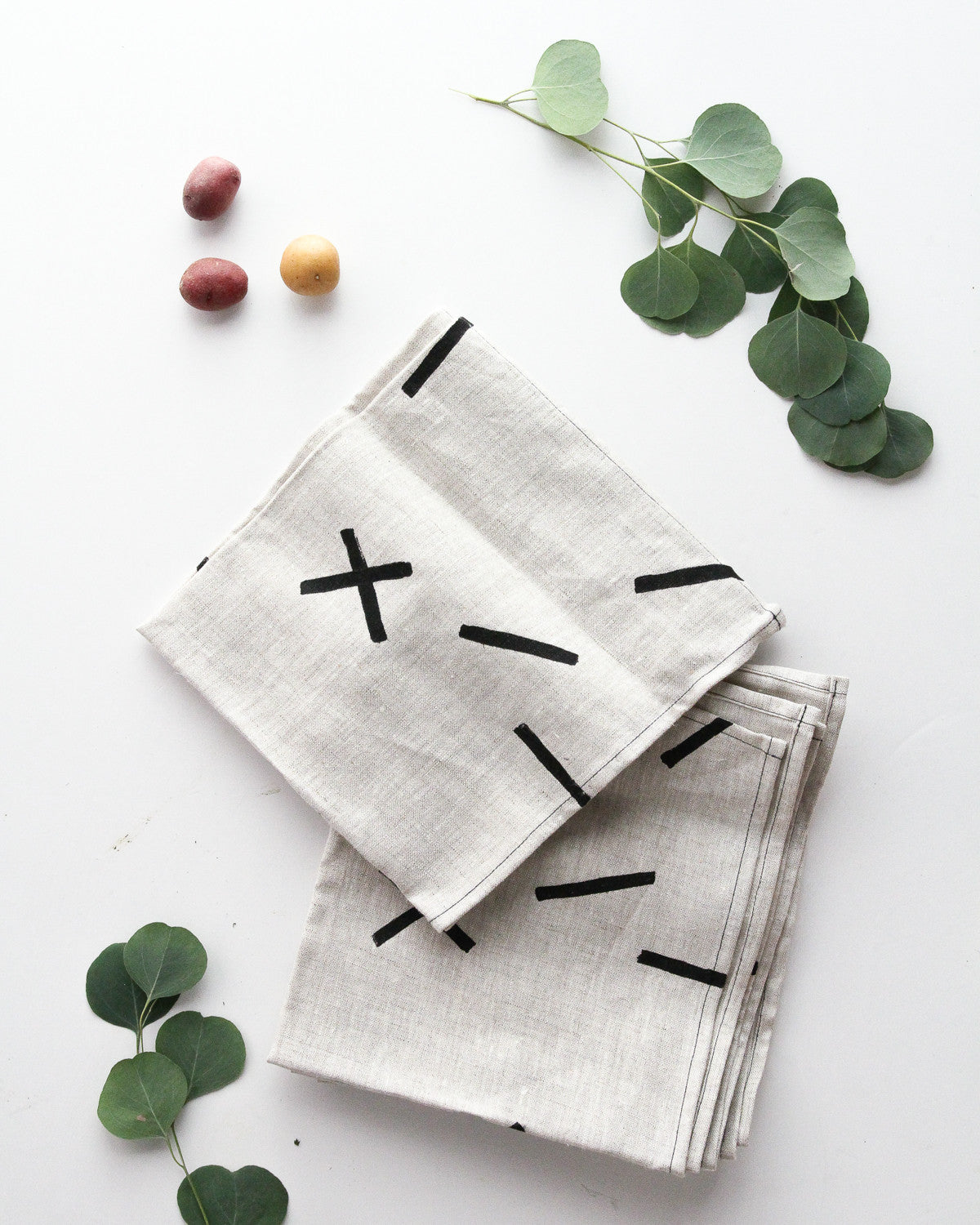 Sticks Linen Napkins - Set of 4