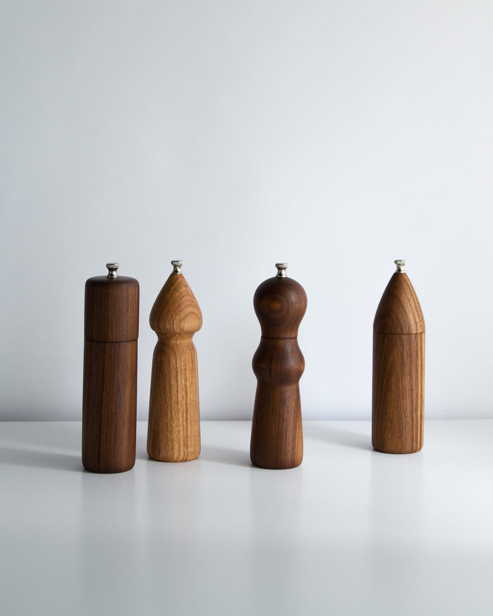 Handmade Salt and Pepper Mills