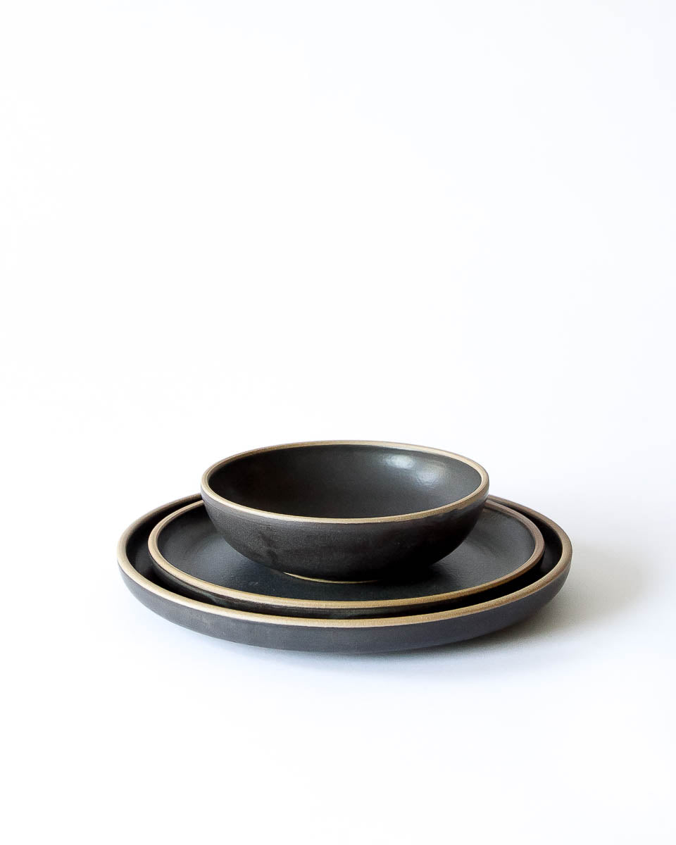 Mira Dinnerware in Charcoal