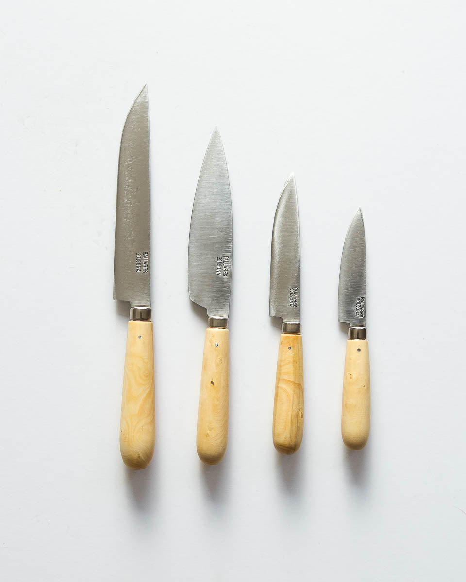 Handmade Carbon Steel Kitchen Knives