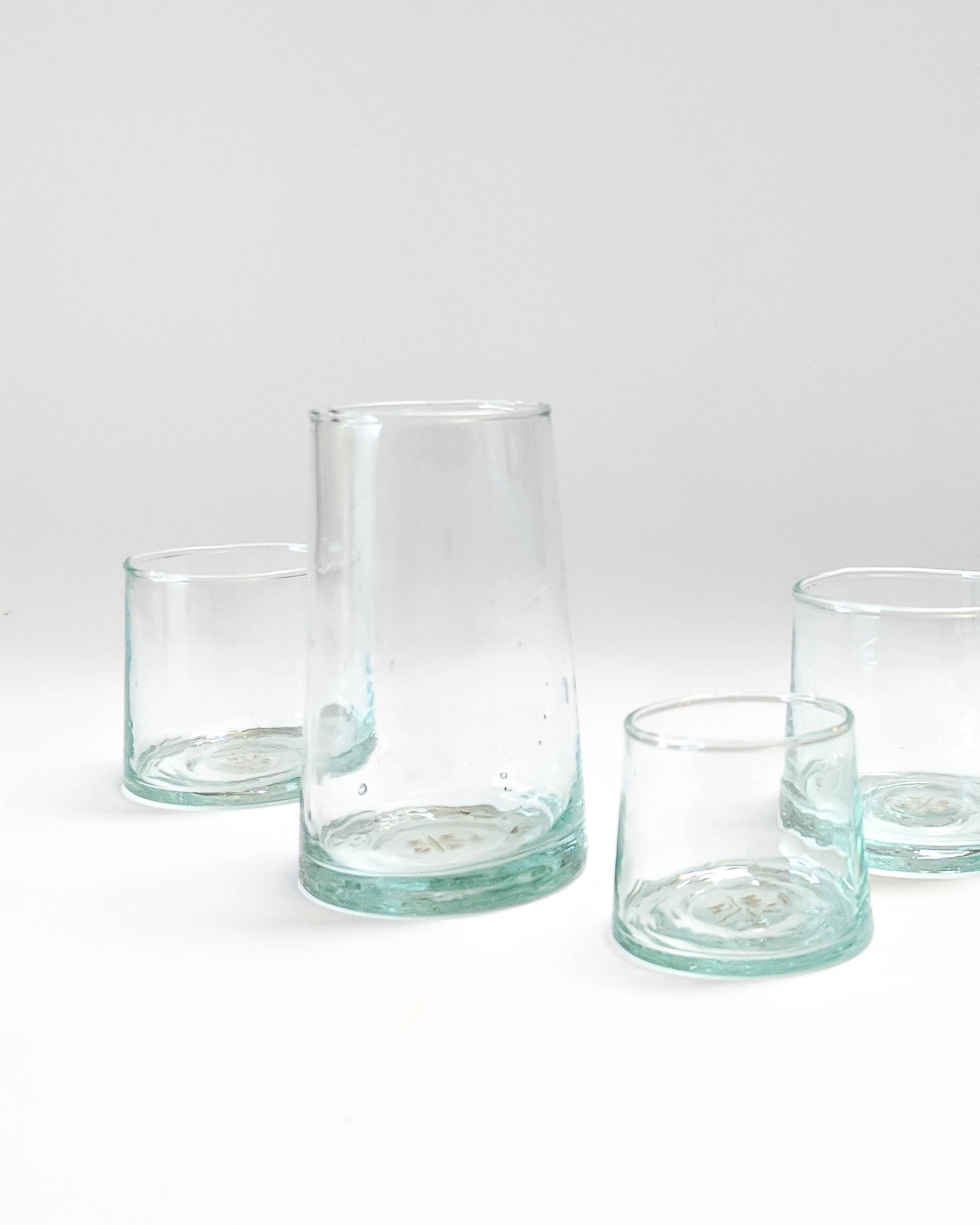 Recycled Glassware Tumbler Set of 6