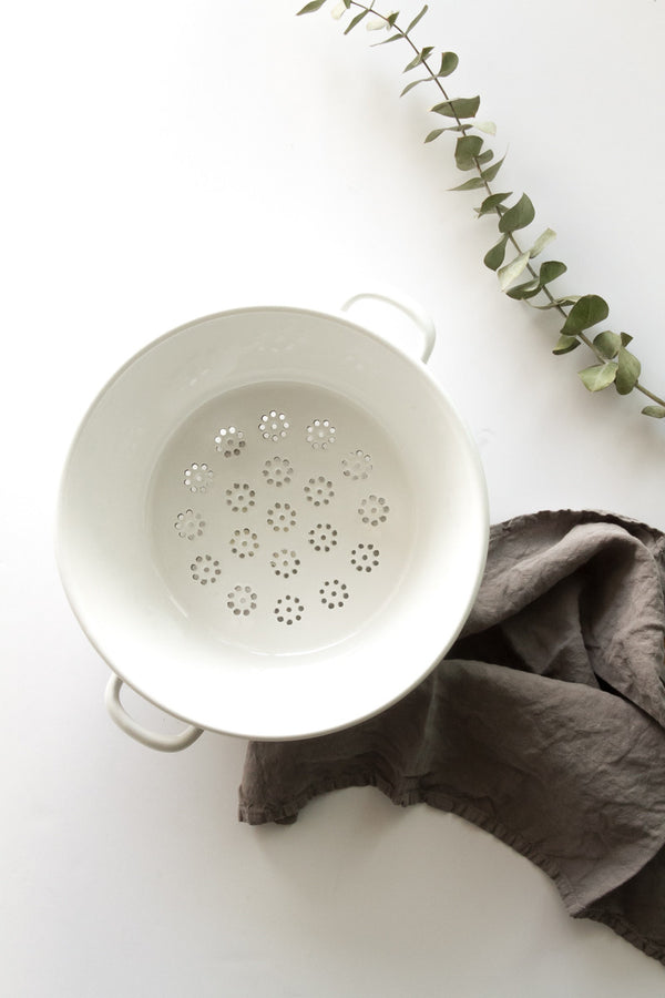 Riess Enameled Colander