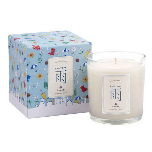 Anouk Moments Scented Soy Candle - Rainy Day