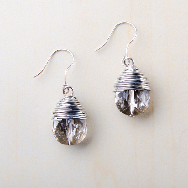Bridget Crystal Earrings