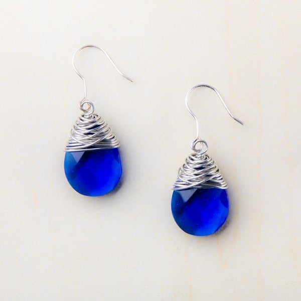 Bridget Royal Blue Earrings