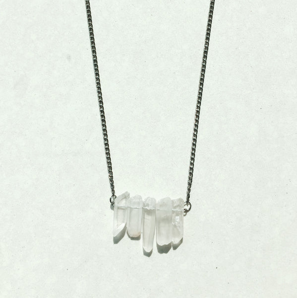 Greta White Necklace
