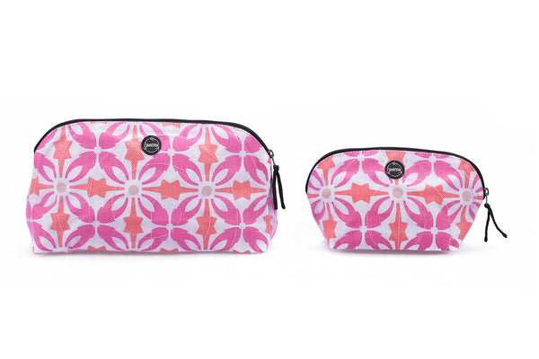 Vanity Pouches - Large Pink