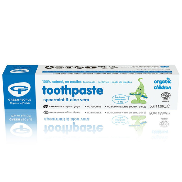 Organic Children Spearmint & Aloe Vera Toothpaste 50ml