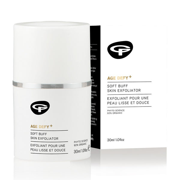 Age Defy+ Soft Buff Skin Exfoliator (30ml) by Green People