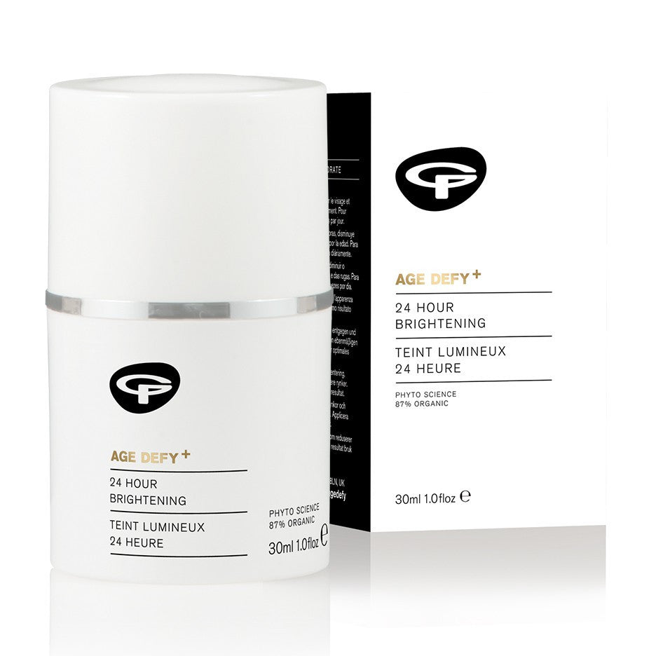 Age Defy+ 24 Hour Brightening Moisturiser (30ml) by Green People