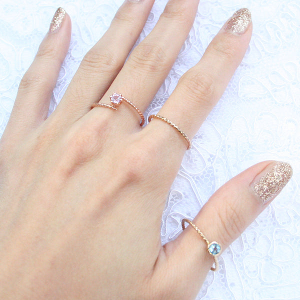 gold simple ring dainty rings cute ring jewelry