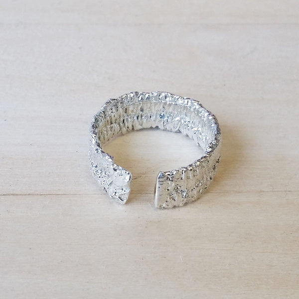 Silver Lace Ring No.1