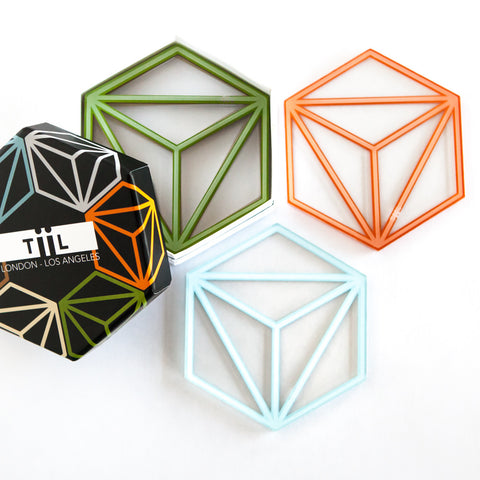 Hexa Coasters - Launch Sale Exclusive to Amazon