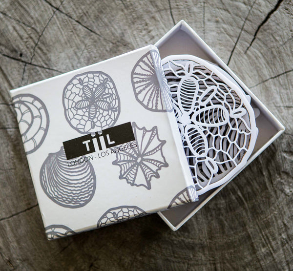 TiiL_SeaShell_Coaster_Set