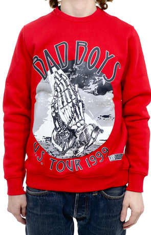 Hudson Bad Boy Tour Crewneck Sweatshirt