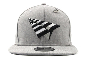 d3706c5e78055 ROC NATION OLD SCHOOL CROWN GREY SNAPBACK