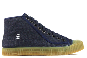 G-STAR R0VULC ROEL MID DENIM SHOES - ECtrendsetters