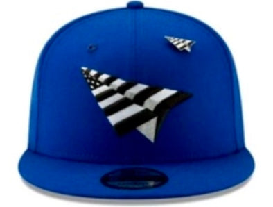 Paper Plane Crown Old School Snapback