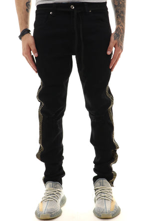 Eternity Knee Rip Iced Out Denim - ECtrendsetters
