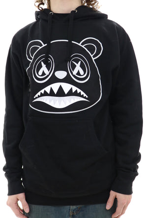 Baws Black Out Silver Hoodie - ECtrendsetters