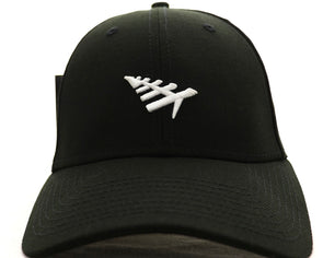 Paper Plane Icon II Dad Hats