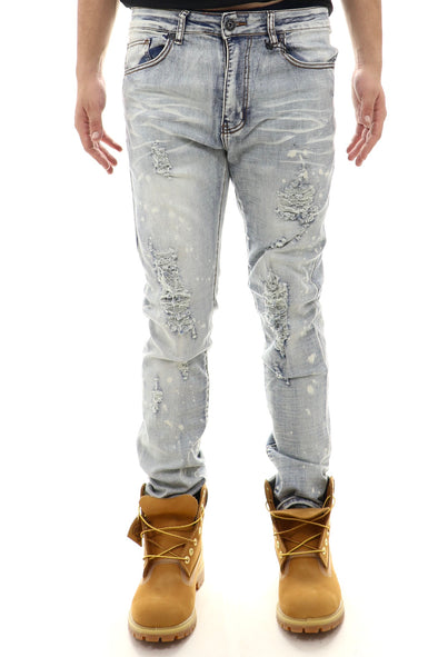 Waimea Light Ripped Denim - ECtrendsetters