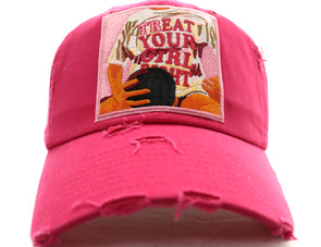 Treat Your Girl Dad Hat