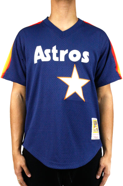 MITCHELL & NESS ASTROS  AUTHENTIC BP JERSEY - ECtrendsetters