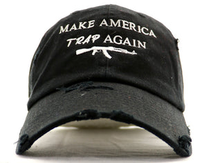 Point Blank Make America Trap Again Dad Hat - ECtrendsetters