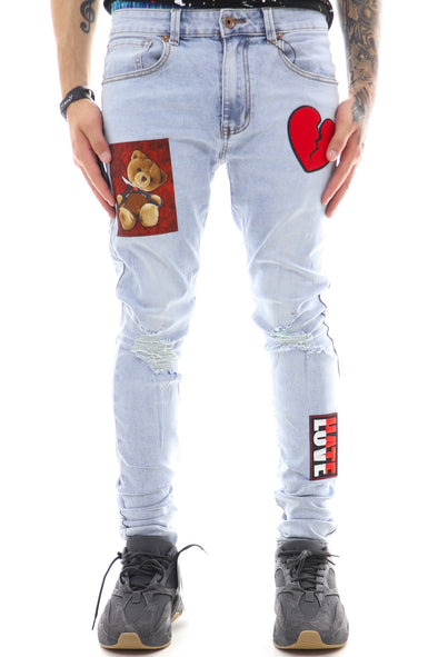 Eternity Broken Heart Denim - ECtrendsetters