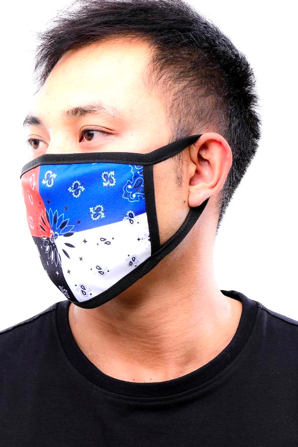 Hudson Nyc Multi Bandana Face Mask