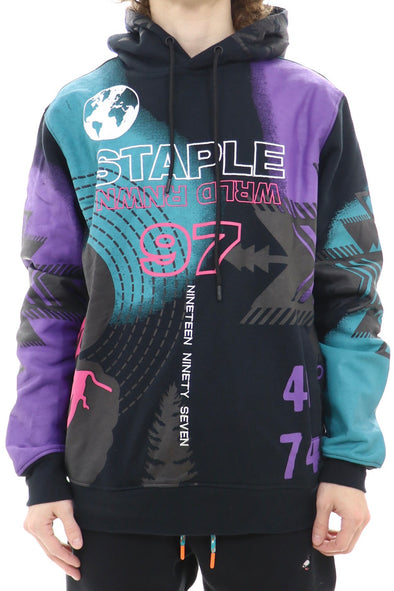 Staple Multi Color World Renown Hoodie - ECtrendsetters