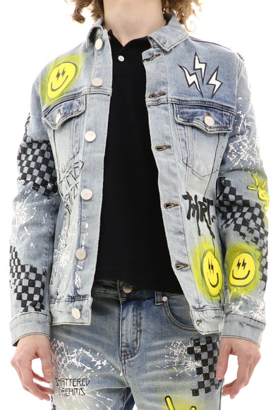 Thrt Denim Shattered Dreams Jacket