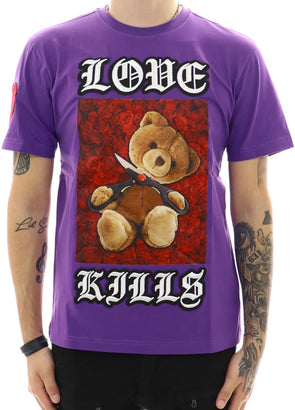 Hudson Love Kills Bear T-Shirt - ECtrendsetters