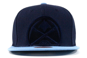 Mitchell & Ness Denver Nuggets Cropped Satin Snapback