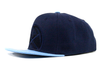 Mitchell & Ness Denver Nuggets Cropped Satin Snapback - ECtrendsetters