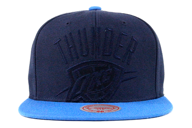 Mitchell & Ness Oklahoma City Thunder Cropped Satin Snapback