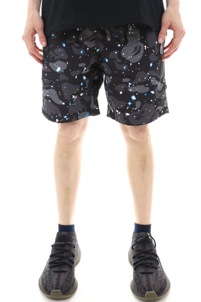 Bape Space Camo Beach Shorts - ECtrendsetters