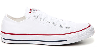 Converse Unisex All Star OX White Lw Top Shoe - ECtrendsetters