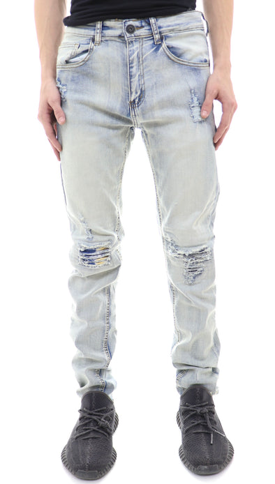 Waimea Knee Ripped Denim