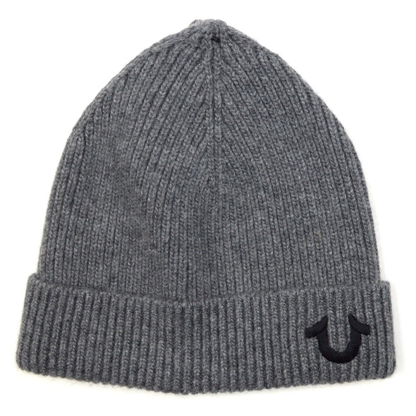 TRUE RELIGION RIBBED BEANIE