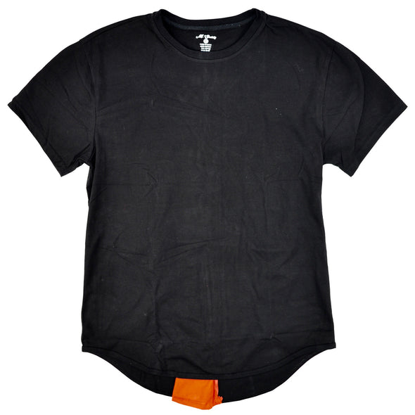 M.SOCIETY BACK ZIPPER T-SHIRT - ECtrendsetters