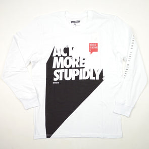 STAPLE ACT STUPID L/S T-SHIRT