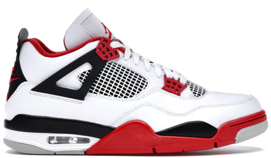 Air Jordan Fire Red 4's - ECtrendsetters