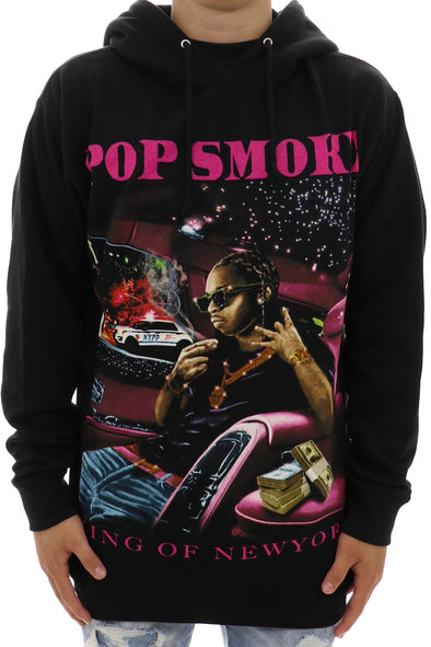 Pop Smoke King Of New York Hoodie - ECtrendsetters