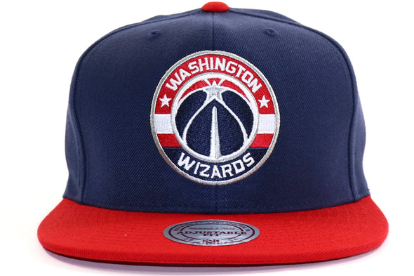 Mitchell & NessWashington Wizards Fused Satin Snapback - ECtrendsetters