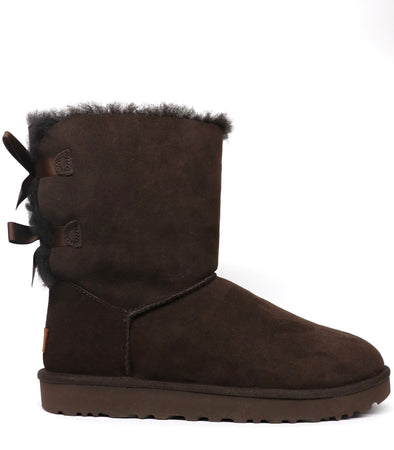 UGG BAILEY BOW II CHOCOLATE BOOT