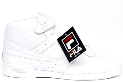 Fila F-13V Triple White Mens Shoe - ECtrendsetters