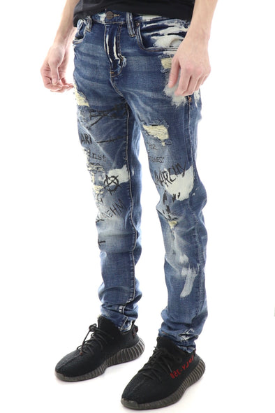 Industrial Indigo Mother Of Madness Denim - ECtrendsetters